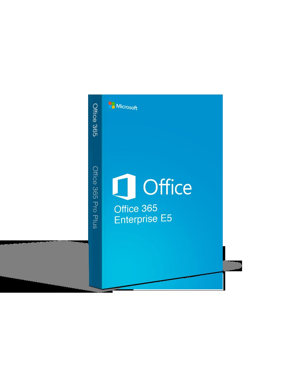 Microsoft Office 365 Enterprise Pro Plus E5 for Mac  (Monthly)