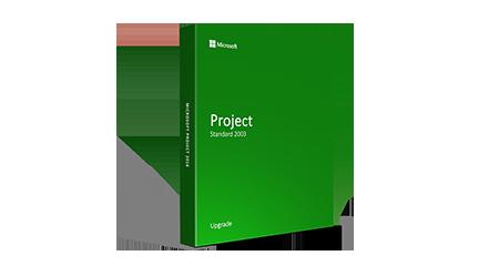 Microsoft Project Standard 2003 - Upgrade