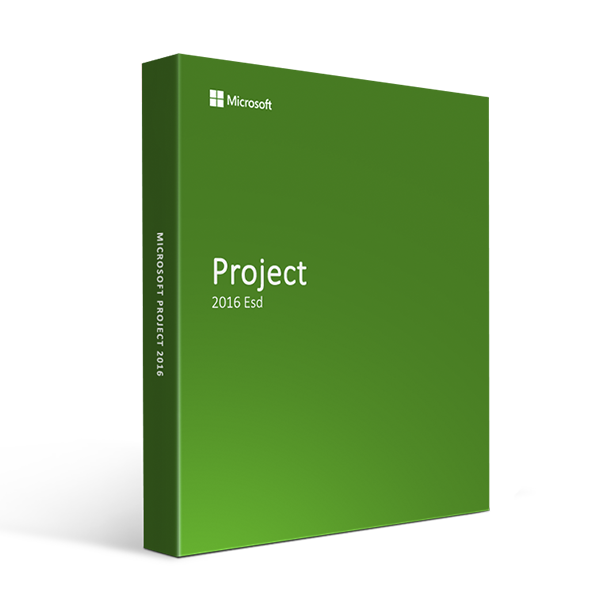 Microsoft Project 2016 Esd