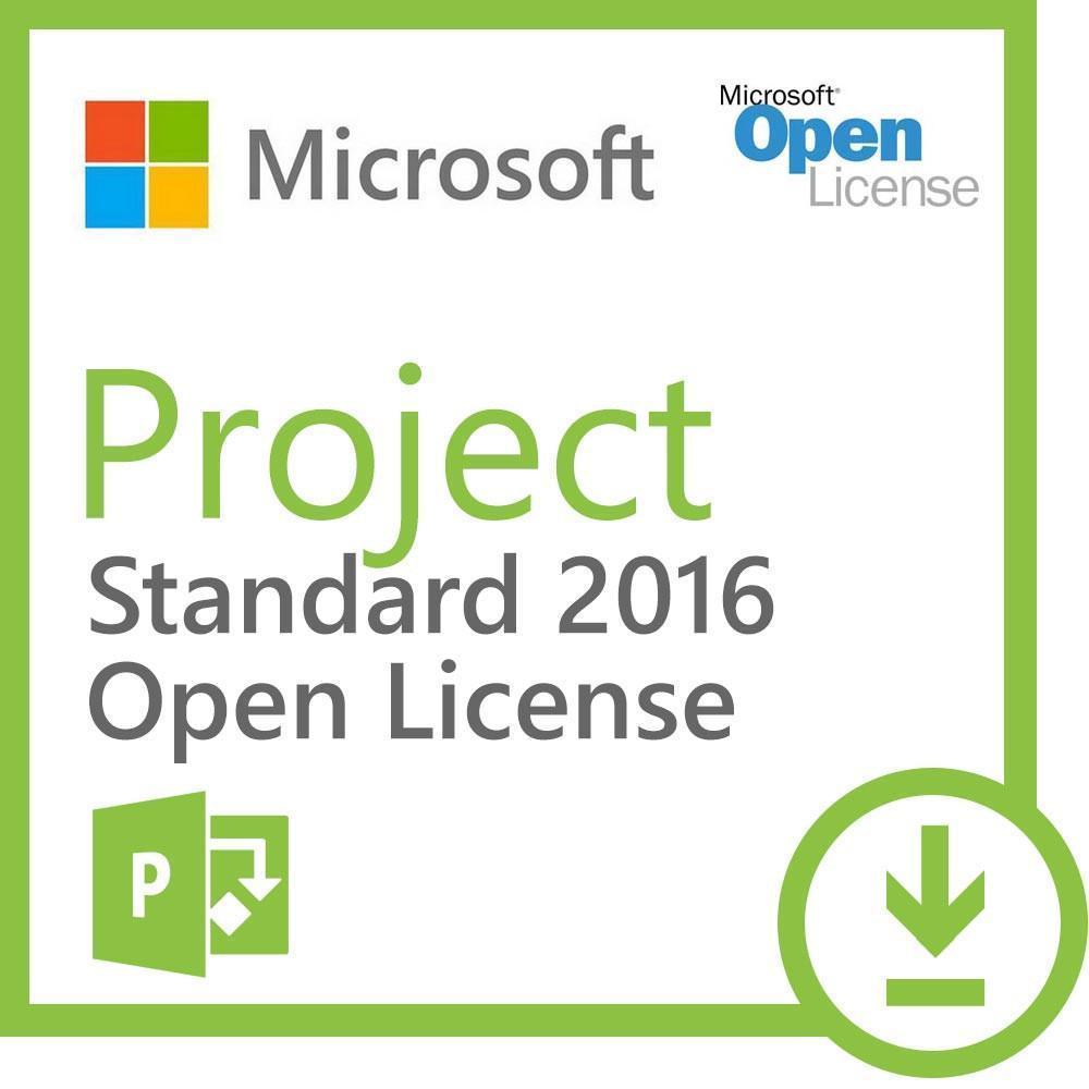 Microsoft Project 2016 Standard Open License
