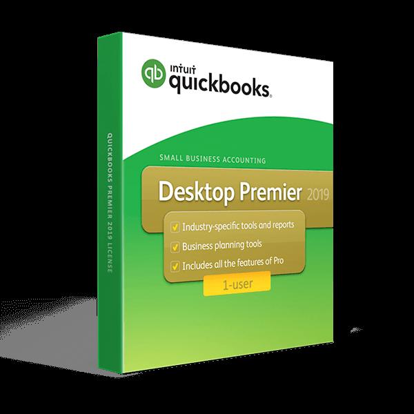QuickBooks Desktop Premier 2019 – 1 User