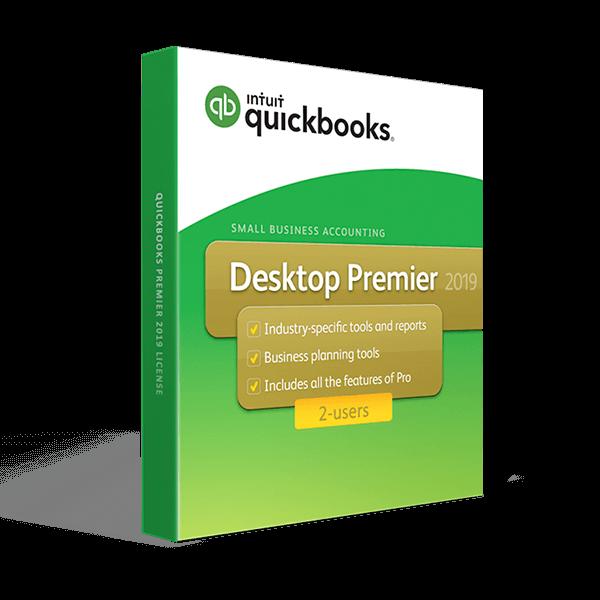 QuickBooks Desktop Premier 2019 2-users