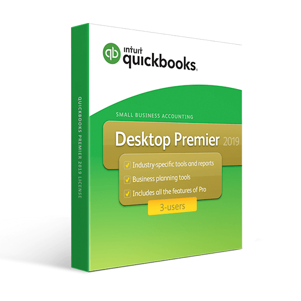 QuickBooks Desktop Premier 2019 – 3 User