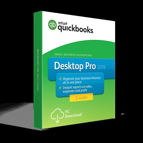 QuickBooks Desktop Pro 2019 – 2 Users