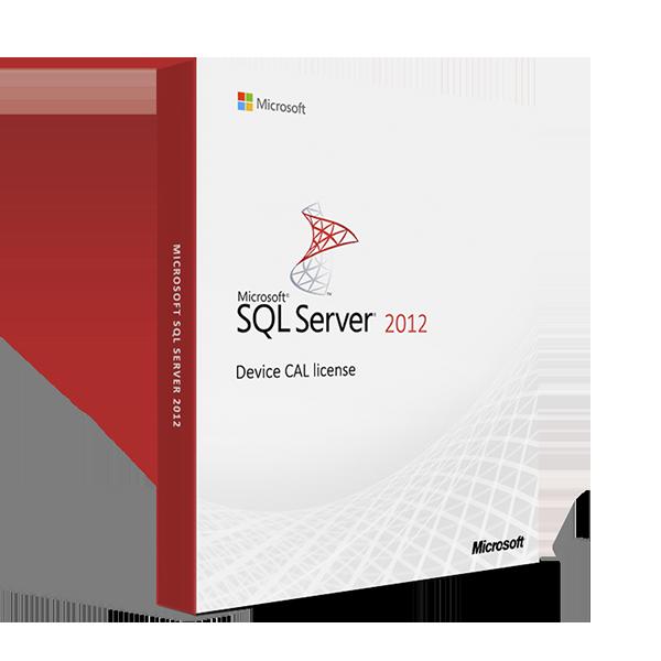 Microsoft SQL Server 2012 - Device CAL license