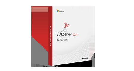 Microsoft SQL Server 2014 - User CAL license