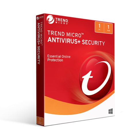 Trend Micro Antivirus Security 2019 (1PC / 1YR)