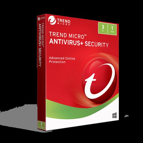 Trend Micro Antivirus Security 2019 (3PC / 1YR)
