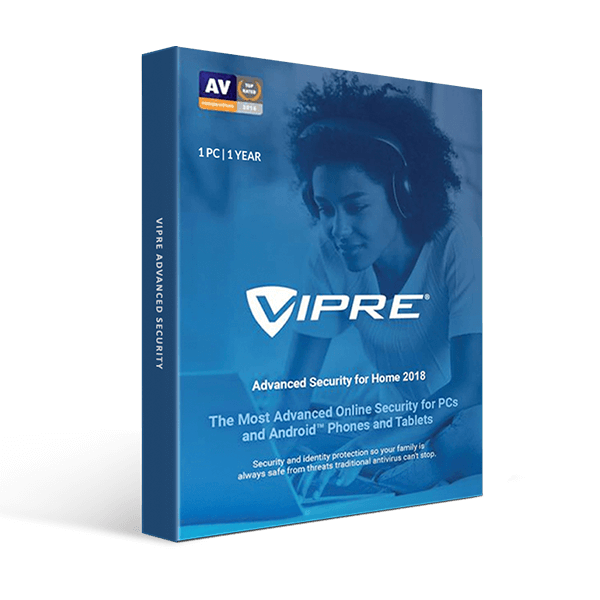 VIPRE Advanced Security 1-PC / 1-Year