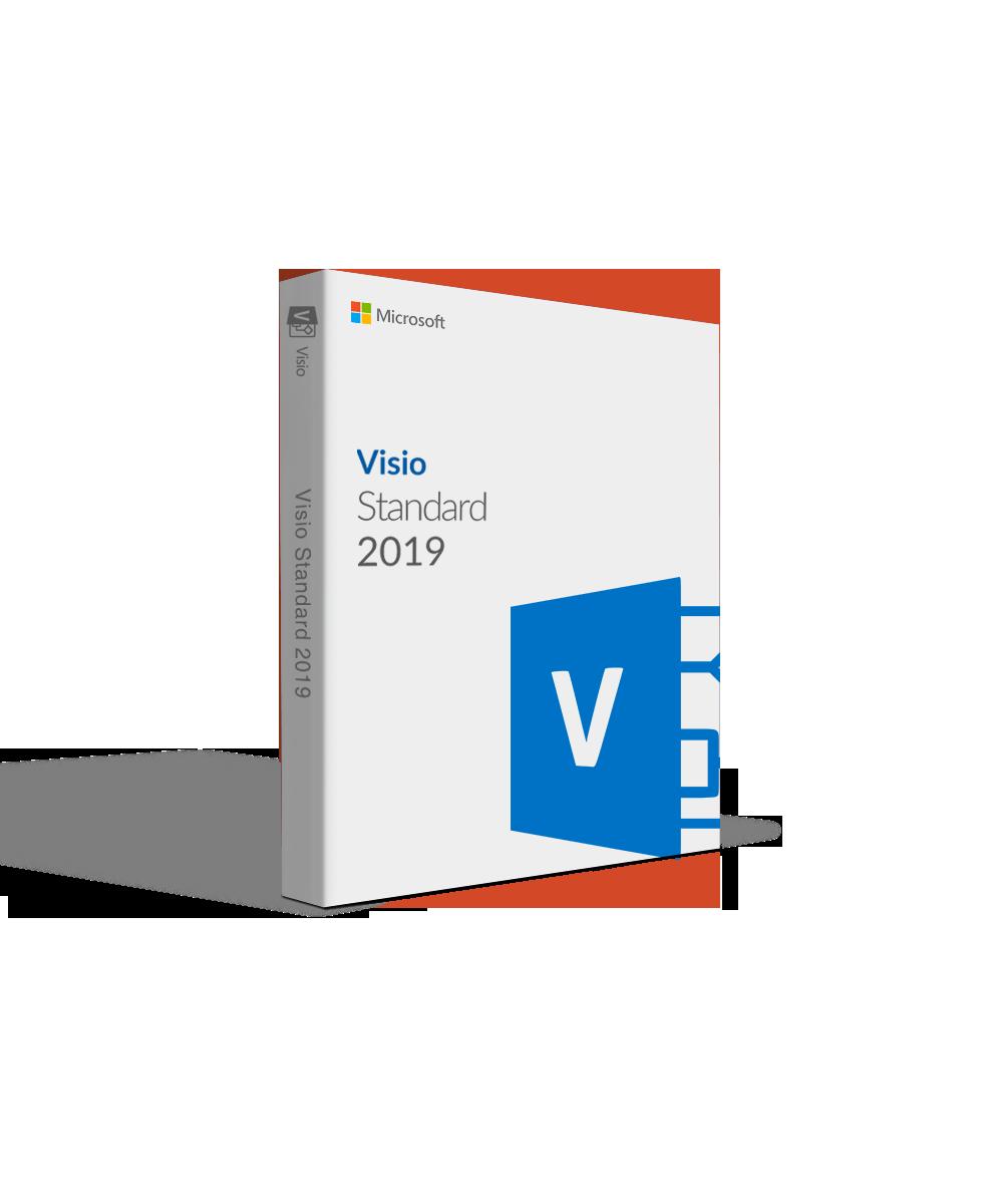Microsoft Visio Standard 2019 For Sale