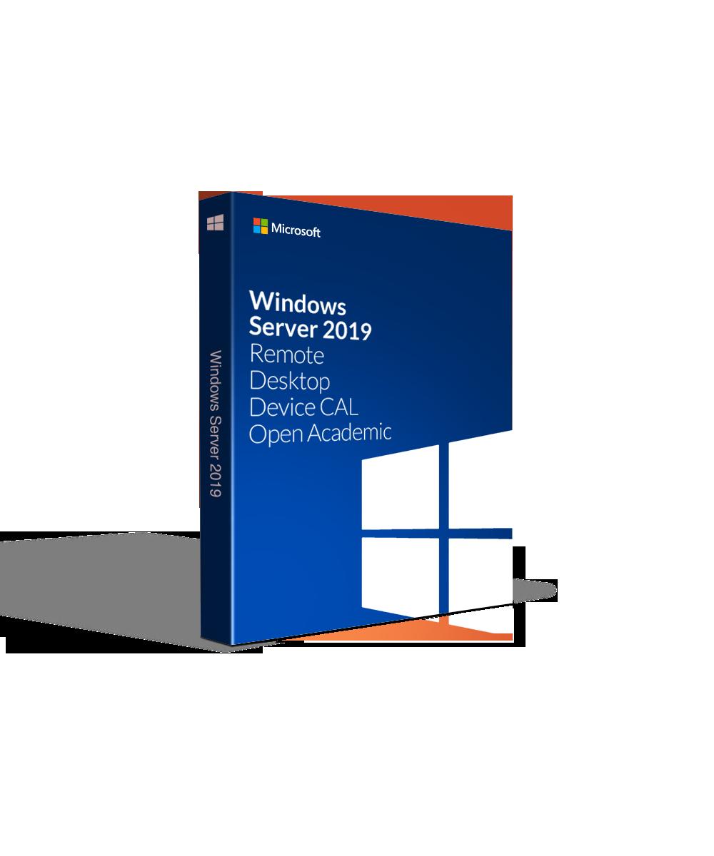 Microsoft Windows Server 2019 Remote Desktop Device CAL - Open Academic