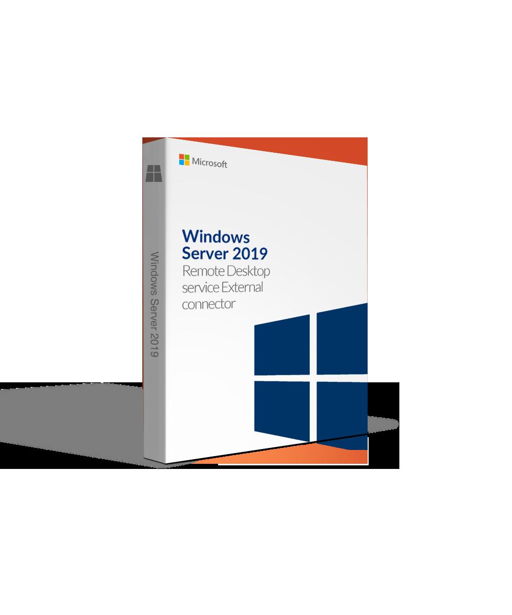 Windows Server 2019 Remote Desktop Services External Connector