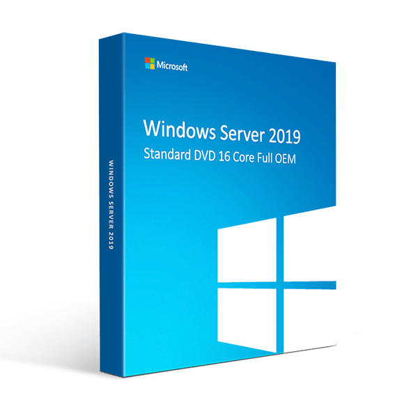 Windows Server Datacenter 2019 DVD 16 Core Full OEM