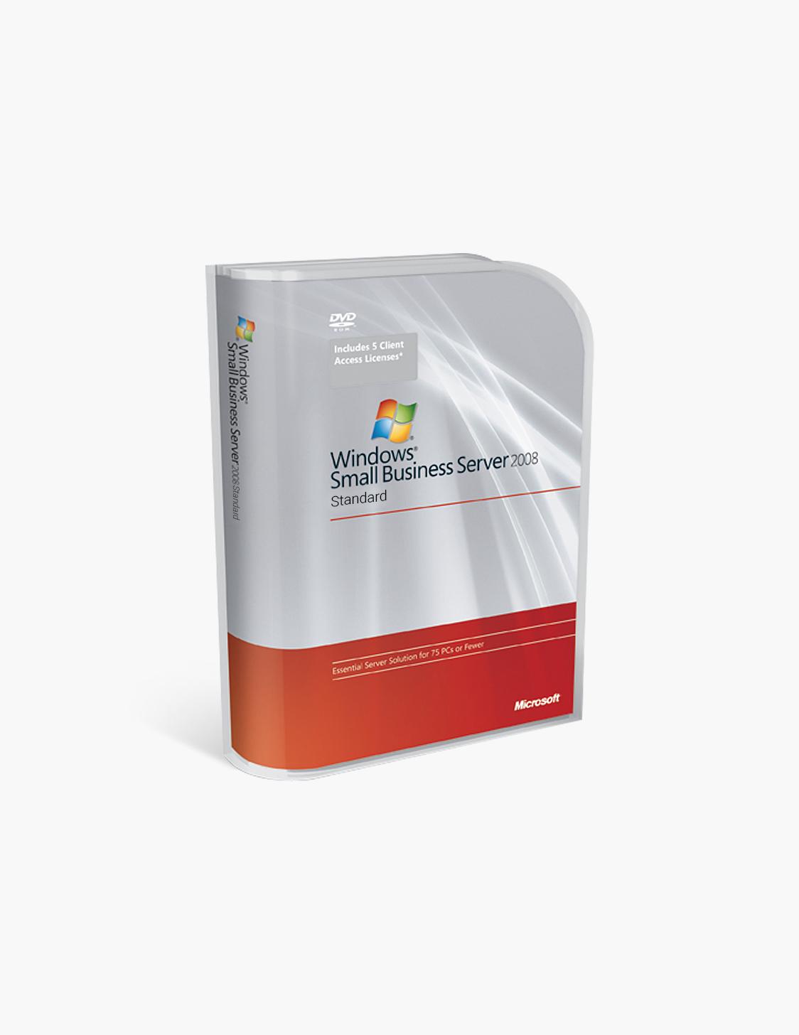 Windows Small Business Server 2008 Standard