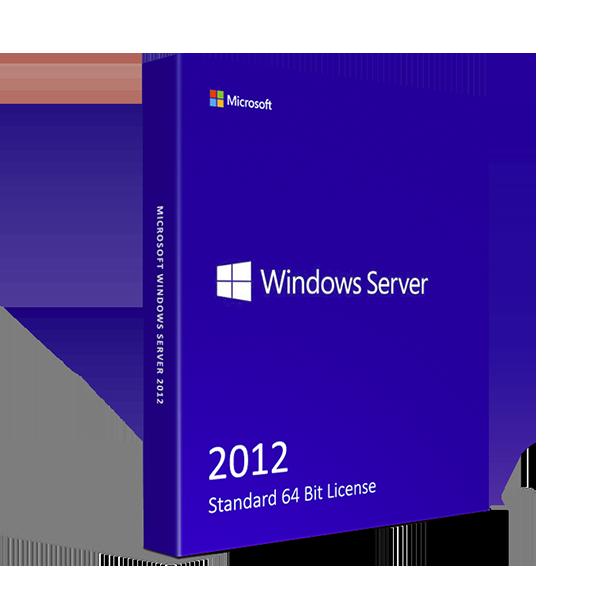 Microsoft Windows Server 2012 Standard License 64 bit