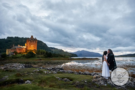 Antimio and Beatrice | Wedding at Eilean Donan Castle