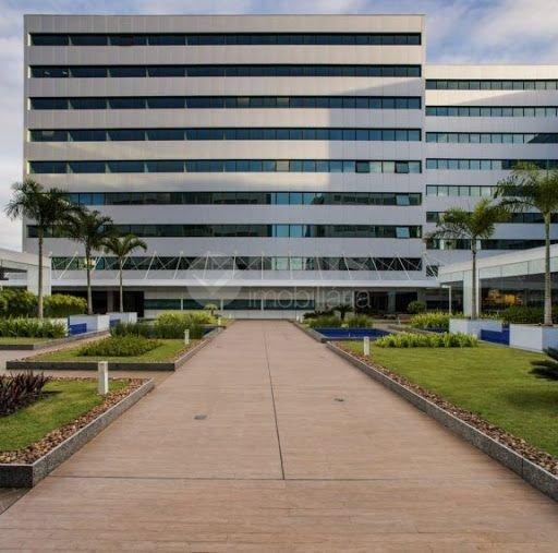 Sala Comercial 111,01m², 3 vagas - Hangar Business - Paralela