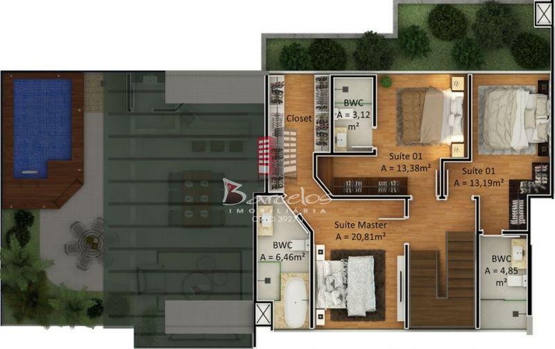 Vende-se Cobertura Duplex Torre A Life Residence - Ressacada - Itajaí/SC