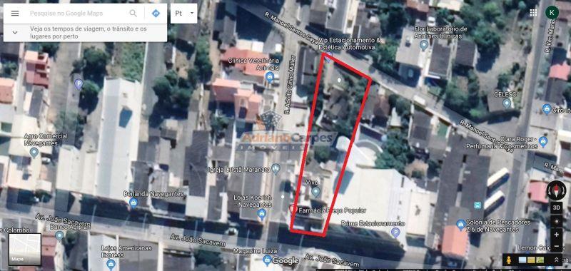 Terreno/Lote à venda  no Centro - Navegantes, SC. Imóveis