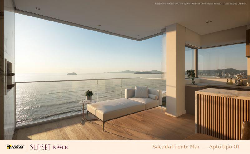 Sunset Tower - Frente Mar Piçarras