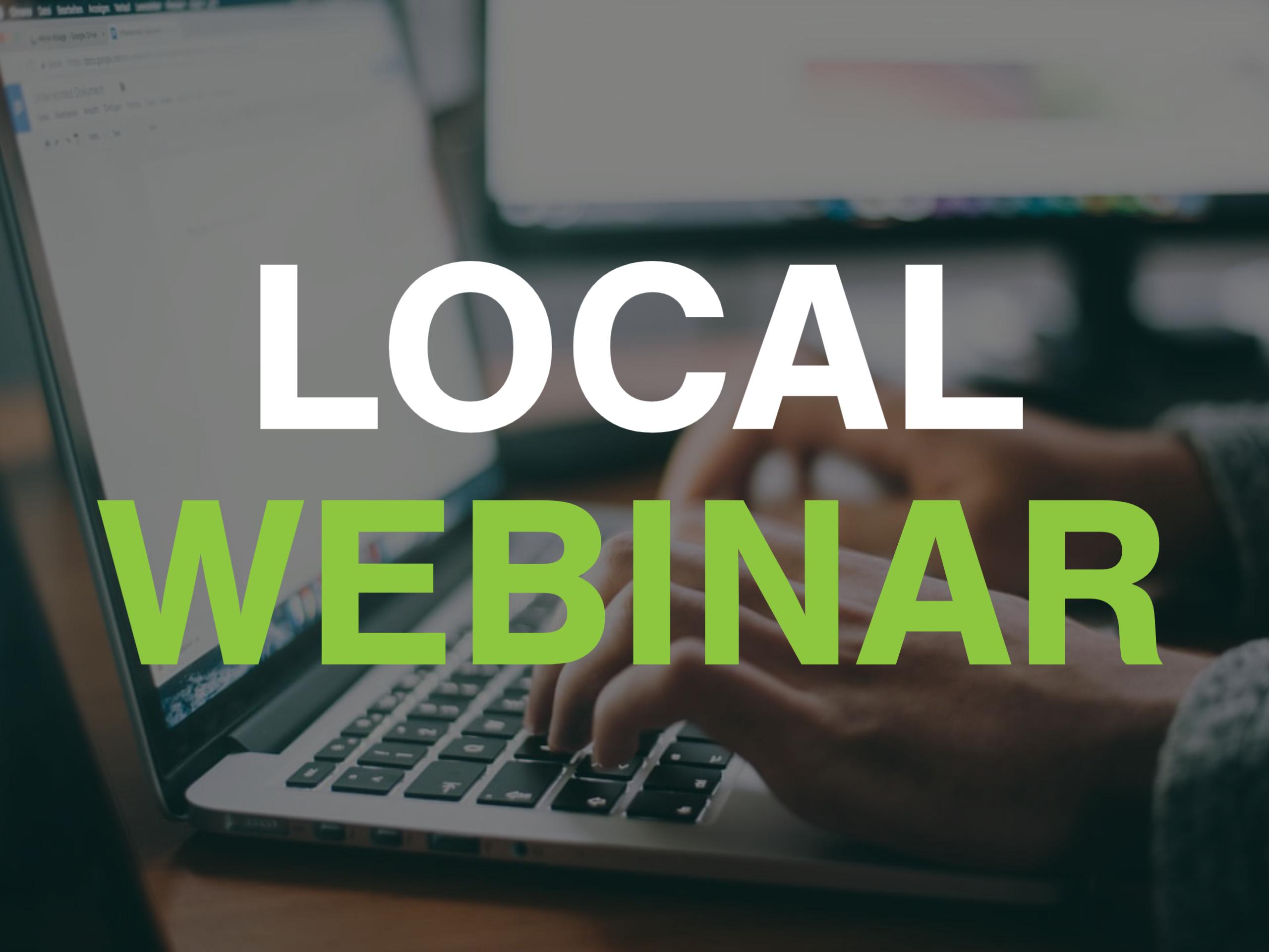 Icon - Local Webinar