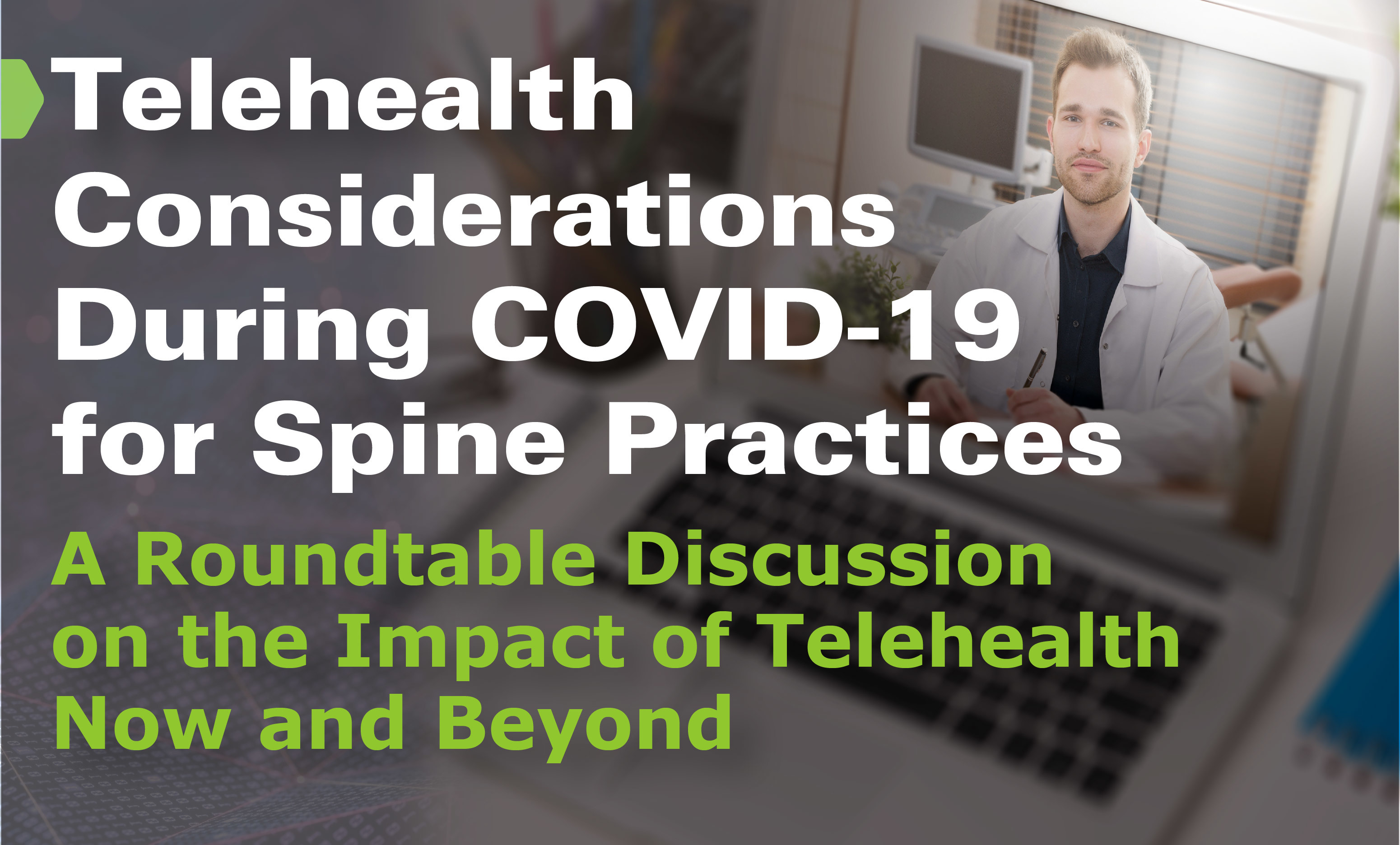 SI BONE Tele Health Virtual Panel Event April 2020 2