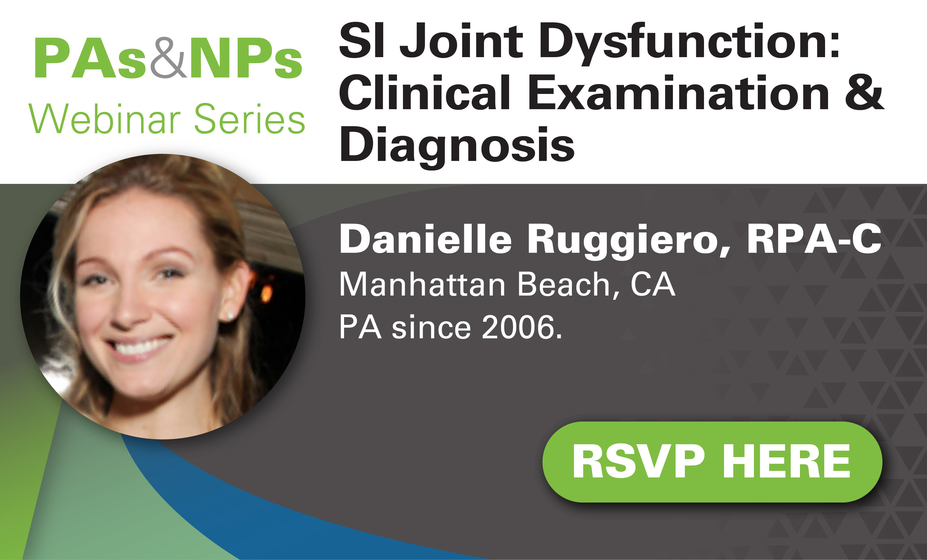 Virtual Ed - Mar 27 - Ruggiero - SIJ Clinical Exam