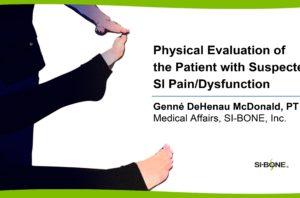 Presentation - Physical Eval - Genne McDonald
