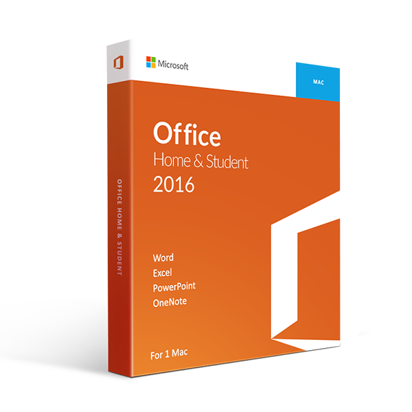 Microsoft Office 2016 >> Microsoft Office 2016 Home And Student For Mac Retail Box 1 User