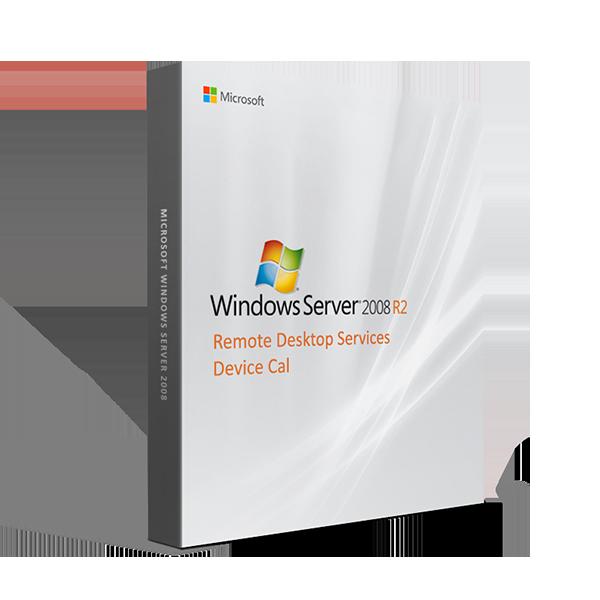 Windows Server 2008 R2 Remote Desktop Services Device Cal