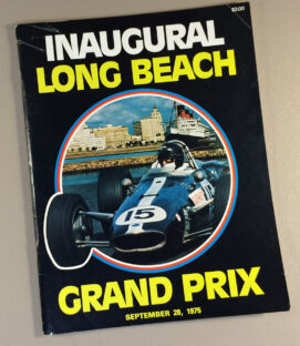 Inaugural Long Beach Grand Prix Program