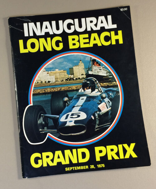 Inaugural Long Beach Grand Prix Program