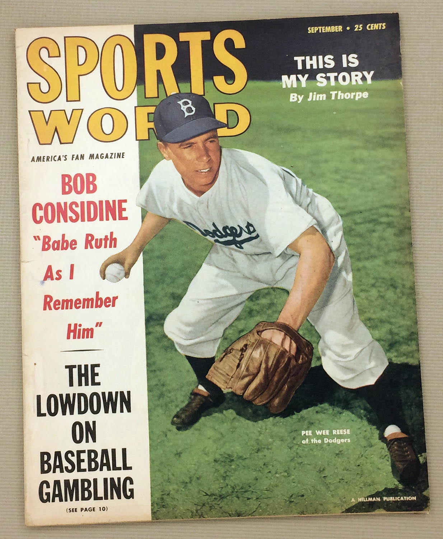 Sports World Magazine Sept 1949 Issue