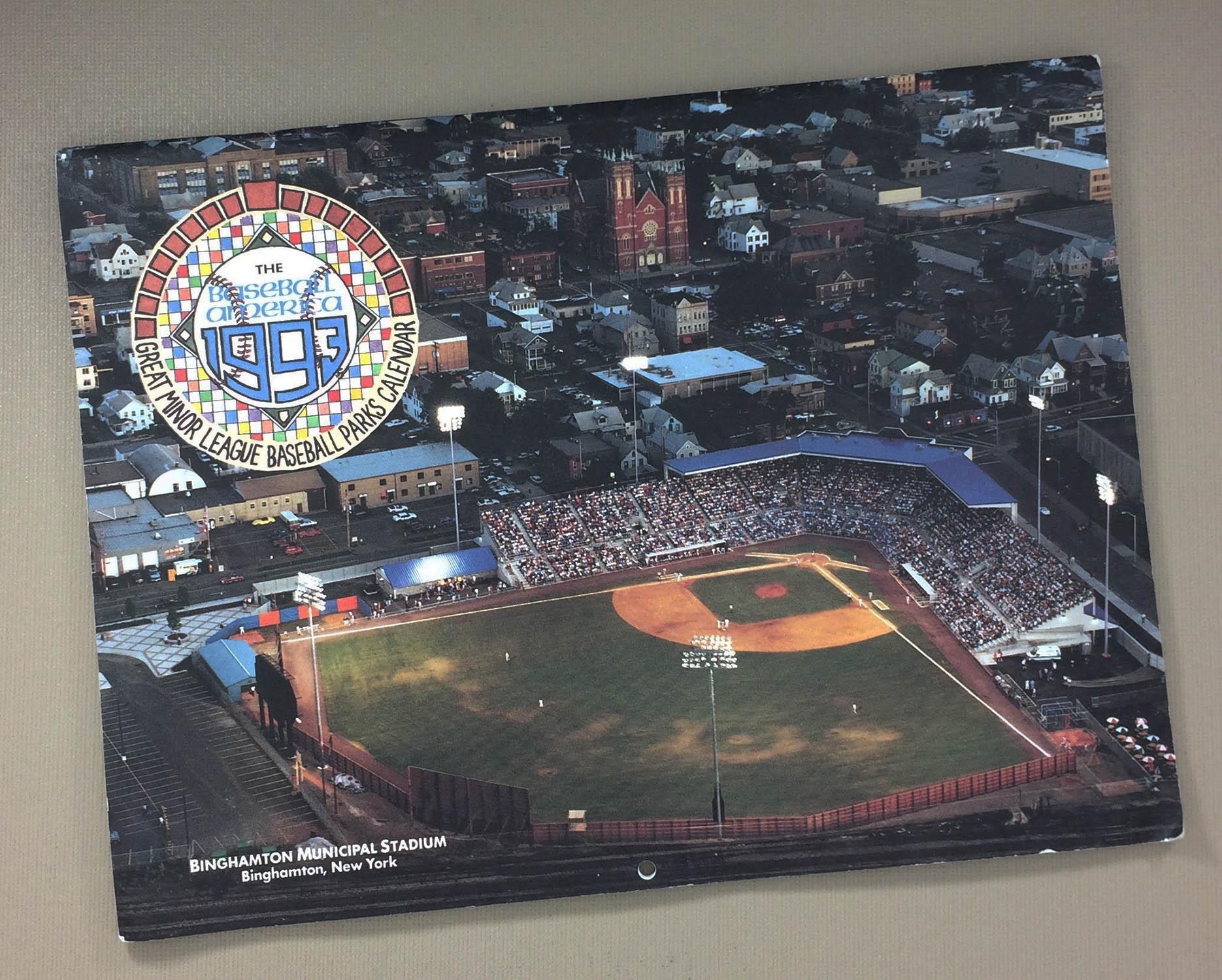 Baseball America 1993 Calendar