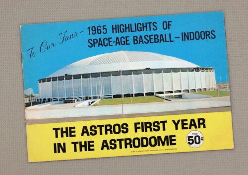 Houston Astrodome 1965 Postcard Book