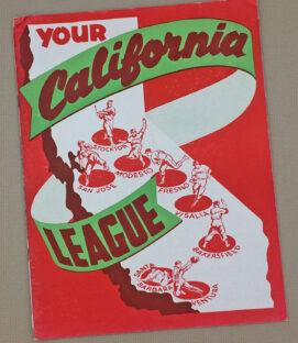 California League 1949 Yearbook