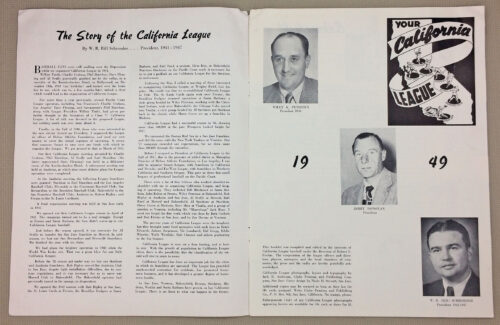 The Story of the California League
