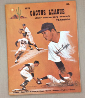 1971 Cactus League Yearbook