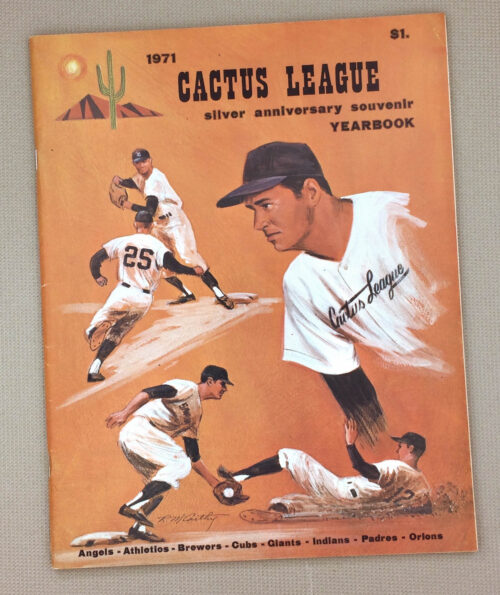 1971 Cactus League Yearbook