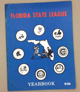 Florida State League 1975 yearbook