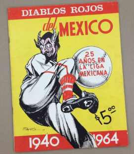Mexico City Red Devils 1964 Yearbook