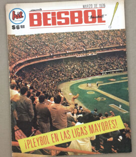 Hit Beisbol Magazine March 1976 Issue