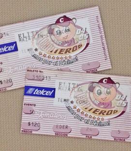 Culiacan Tomateros 2004 Ticket Stub