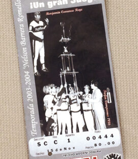 Mexicali Aguilas 2003 Ticket Stub