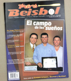 Puro Beisbol LMP Magazine Oct 2004 Issue