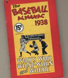 The Baseball Almanac 1938