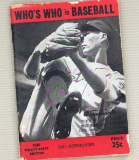 Who's Who in Baseball 1946 Guide