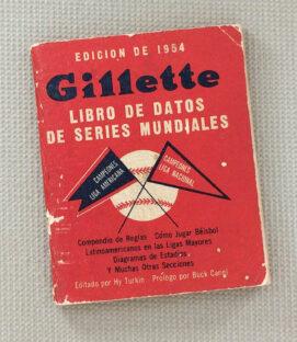 Gillette Spanish 1954 Baseball Guide