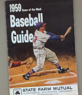 1959 Game-of-the-Week Baseball Guide