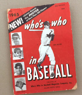 Who's Who in Baseball 1965